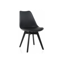 Деревянный стул Bonus black / black