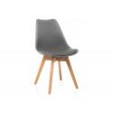 Деревянный стул Bonus dark gray