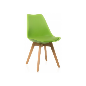 Деревянный стул Bonus green