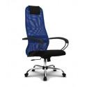 Эргономичное кресло МЕТТА SU-BP-8 CH (овальное сечение)