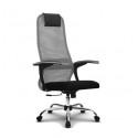 Эргономичное кресло МЕТТА SU-BM-8 CH (овальное сечение)
