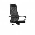 Эргономичное кресло МЕТТА SU-BK-8 (овальное сечение)