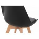Деревянный стул Bonus черный