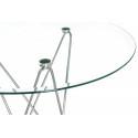 Стеклянный стол Ice 80