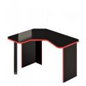 Стол игровой СКЛ-ИгрУгл120Ч (левый)