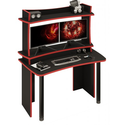 Игровой компьютерный стол СКЛ-Софт140Ч+НКИЛ140ВЛЧ