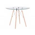 Стеклянный стол PT-151 90