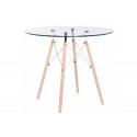 Стеклянный стол PT-151 80