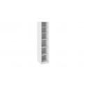 Шкаф с 1-й дверью «Наоми» СМ-208.07.01 (Белый глянец)
