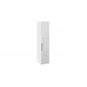 Шкаф с 1-й зеркальной дверью правый «Наоми» (Белый глянец)