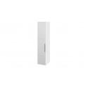 Шкаф с 1-й зеркальной дверью левый «Наоми» (Белый глянец)