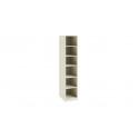 Шкаф для белья с 1-ой дверью «Лючия» СМ-235.07.01 (Штрихлак)