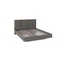Кровать с мягким изголовьем «Либерти»  СМ-297.01.005 (Хадсон/Ткань Грей)