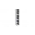 Шкаф для белья с 1-ой дверью правый «Ривьера» СМ 241.21.001 (Белый)