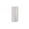 Шкаф угловой с 1 зеркальной дверью с опорой «Сабрина» (Кашемир) СМ-307.07.231-01