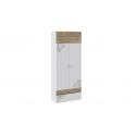 Шкаф для одежды «Оксфорд» (Ривьера/Белый с рисунком) ТД-139.07.22