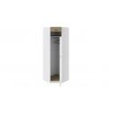 Шкаф угловой «Оксфорд» (Ривьера/Белый с рисунком) ТД-139.07.23