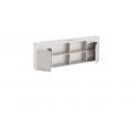 Шкаф настенный «Ариэль» (Лиственница Сибиу с рисунком)