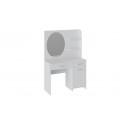 Стол туалетный «Эвита» (Белый глянец)