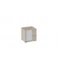 Тумба прикроватная «Валери» (Дуб сонома/Белый ясень)