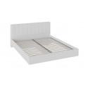 Кровать «Глория» с мягким изголовьем (Белый)