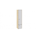 Шкаф для белья «Мегаполис» (Бунратти/Белый с рисунком) ТД-315.07.21