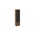 Шкаф для посуды «Инфинити» (Черный, Дуб Монастырский)
