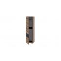 Шкаф «Инфинити» (Черный, Дуб Монастырский)
