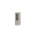 Шкаф для посуды «Фьюжн» (Бежевый, Дуб Сонома трюфель) ТД-260.07.27