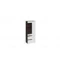 Шкаф для посуды «Фьюжн» (Белый глянец, Венге Линум) ТД-260.07.27