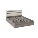 Кровать с подъемным механизмом «Фьюжн» (Бежевый, Дуб Сонома трюфель) ТД-260.01.04