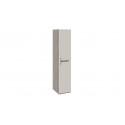 Шкаф для белья с 1-ой дверью «Фьюжн» (Бежевый, Дуб Сонома трюфель) ТД-260.07.01