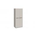 Шкаф для одежды с 2-мя дверями «Фьюжн» (Бежевый, Дуб Сонома трюфель) ТД-260.07.02