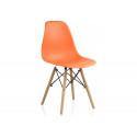 Пластиковый стул Eames PC-015 orange