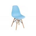 Пластиковый стул Eames PC-015 blue