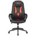 Кресло игровое Zombie VIKING-8N/BL+RED черный/красный искусственная кожа