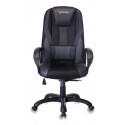 Кресло игровое Zombie VIKING-9/BLACK черный искусст.кожа/ткань