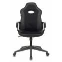Кресло игровое Zombie VIKING-11/BLACK черный искусст.кожа/ткань