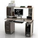 Письменные столы с надстройкой