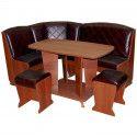 Угловые кухонные диваны со столом