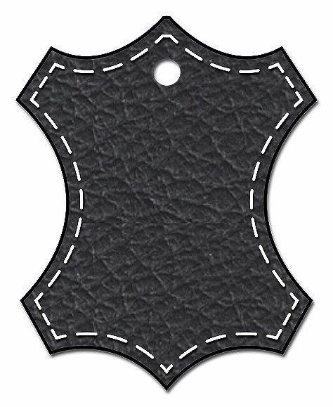 Натуральная кожа - Черный 701
