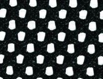 Ткань-сетка - Черный 20