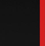 Черный с красной кромкой