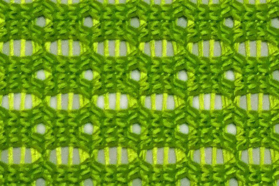 Сетчатая ткань (Х2) - Зеленый